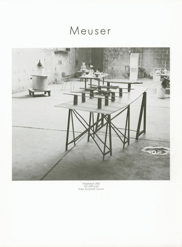 Meuser - Galerie Max Hetzler