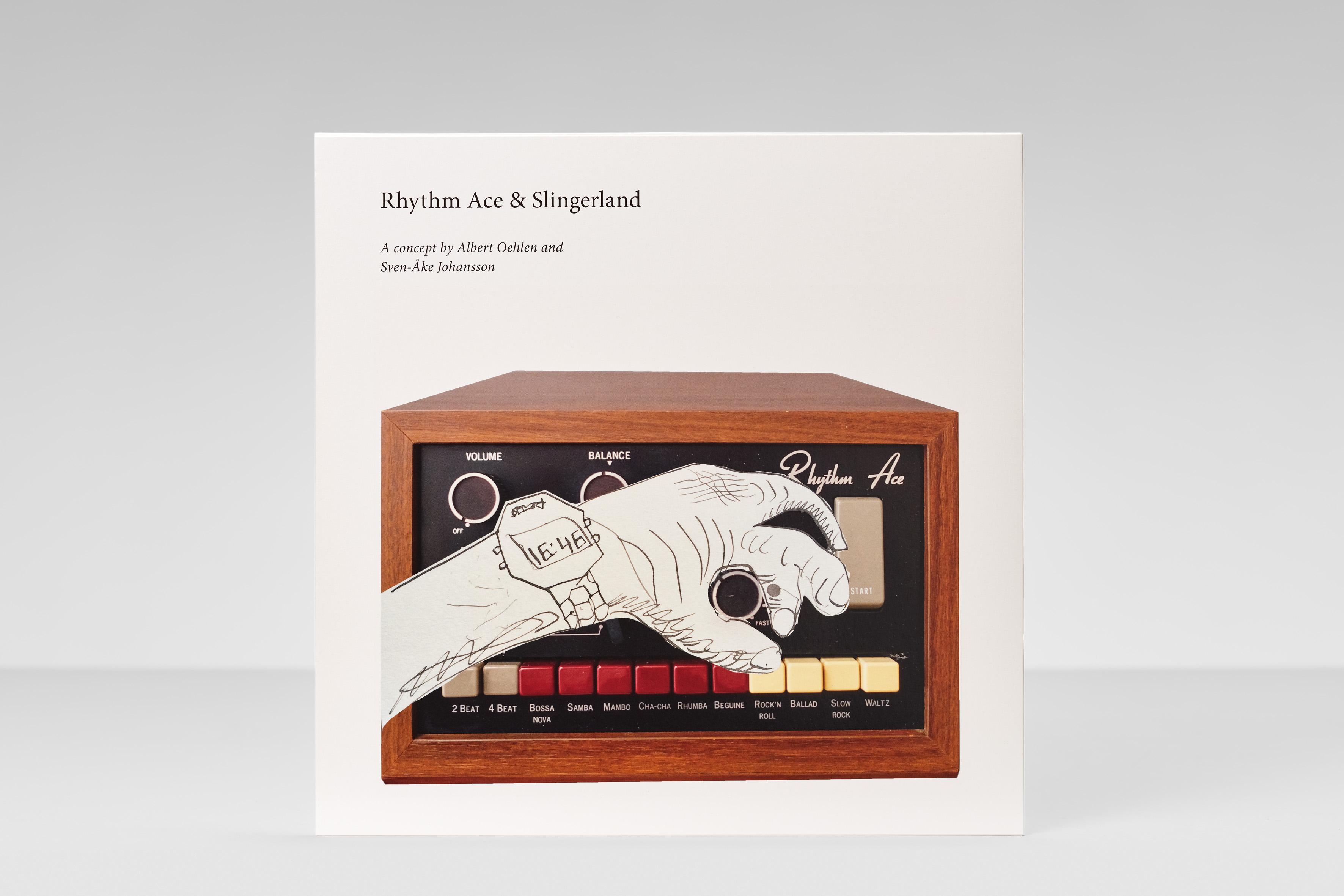 Albert Oehlen x Sven-Åke Johansson, Rhythm Ace & Slingerland - Galerie Max Hetzler