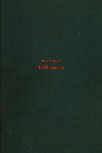 Deklinationen - Galerie Max Hetzler