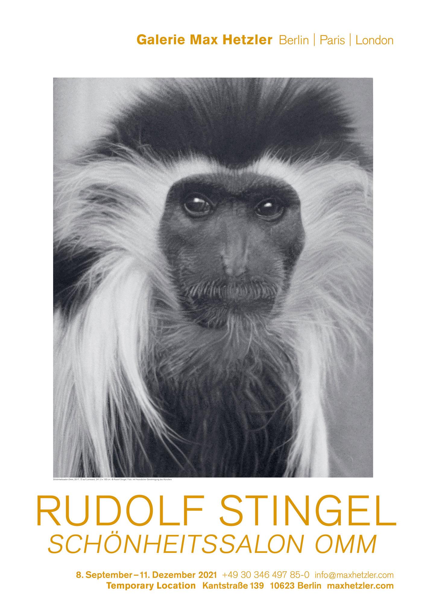 Rudolf Stingel, Schönheitssalon Omm - Galerie Max Hetzler