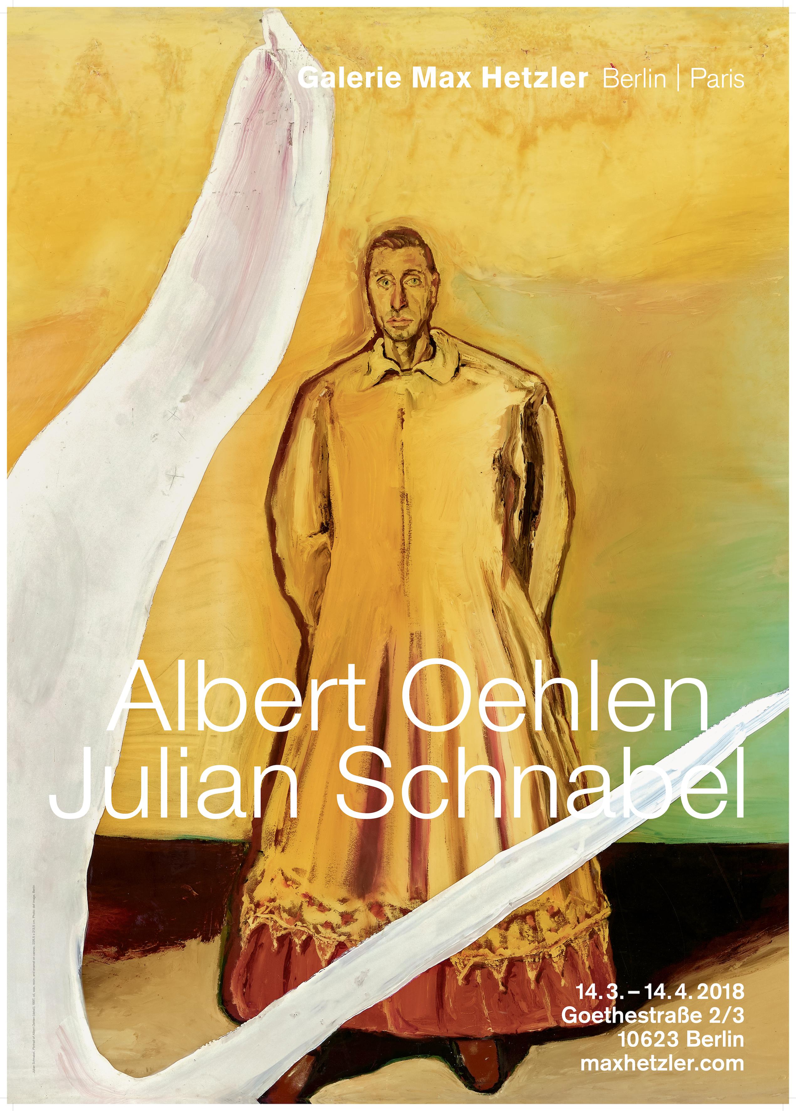 Albert Oehlen | Julian Schnabel - Galerie Max Hetzler