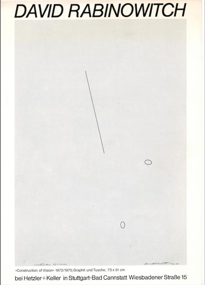David Rabinowitch - Galerie Max Hetzler