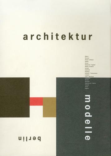 Architektur Modelle Berlin - Galerie Max Hetzler