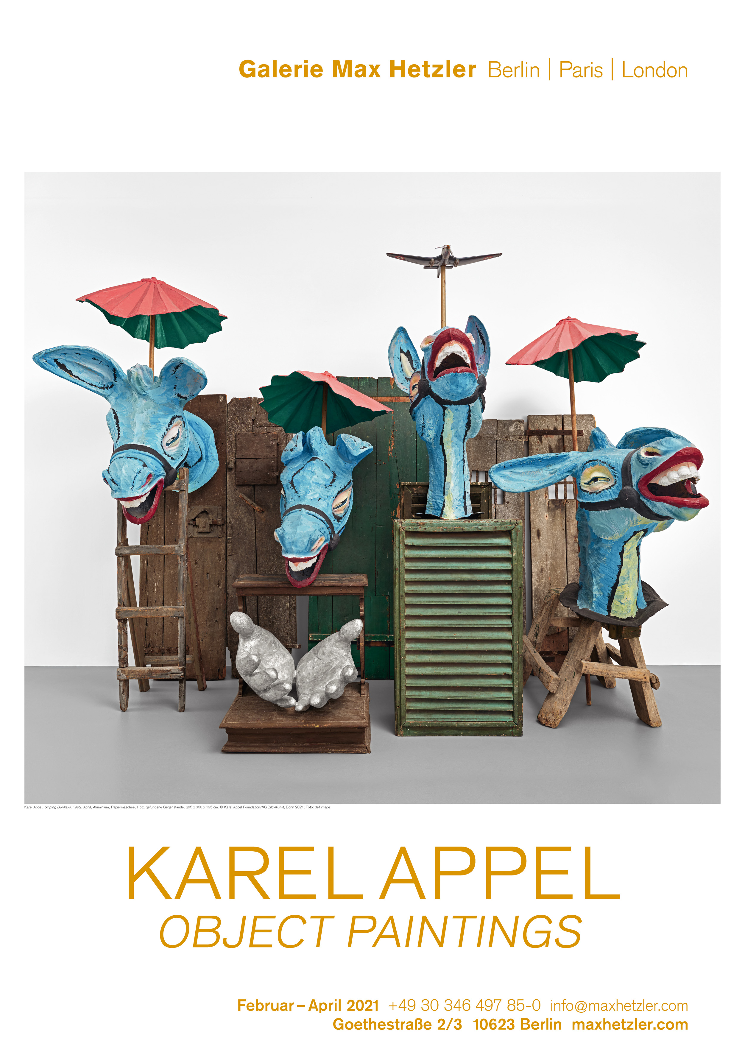 Karel Appel, Object Paintings - Galerie Max Hetzler