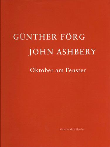 Oktober am Fenster - Galerie Max Hetzler