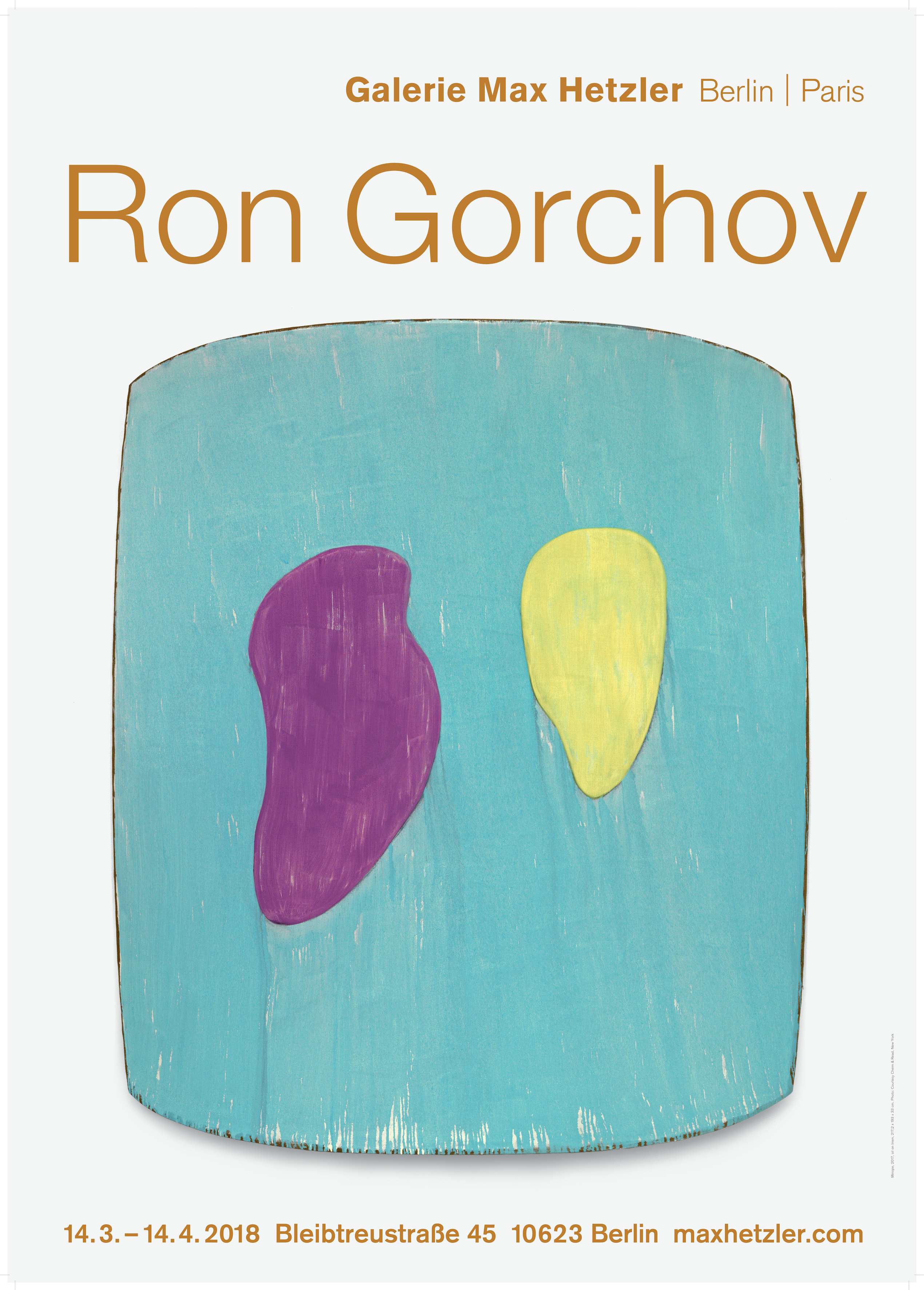 Ron Gorchov - Galerie Max Hetzler