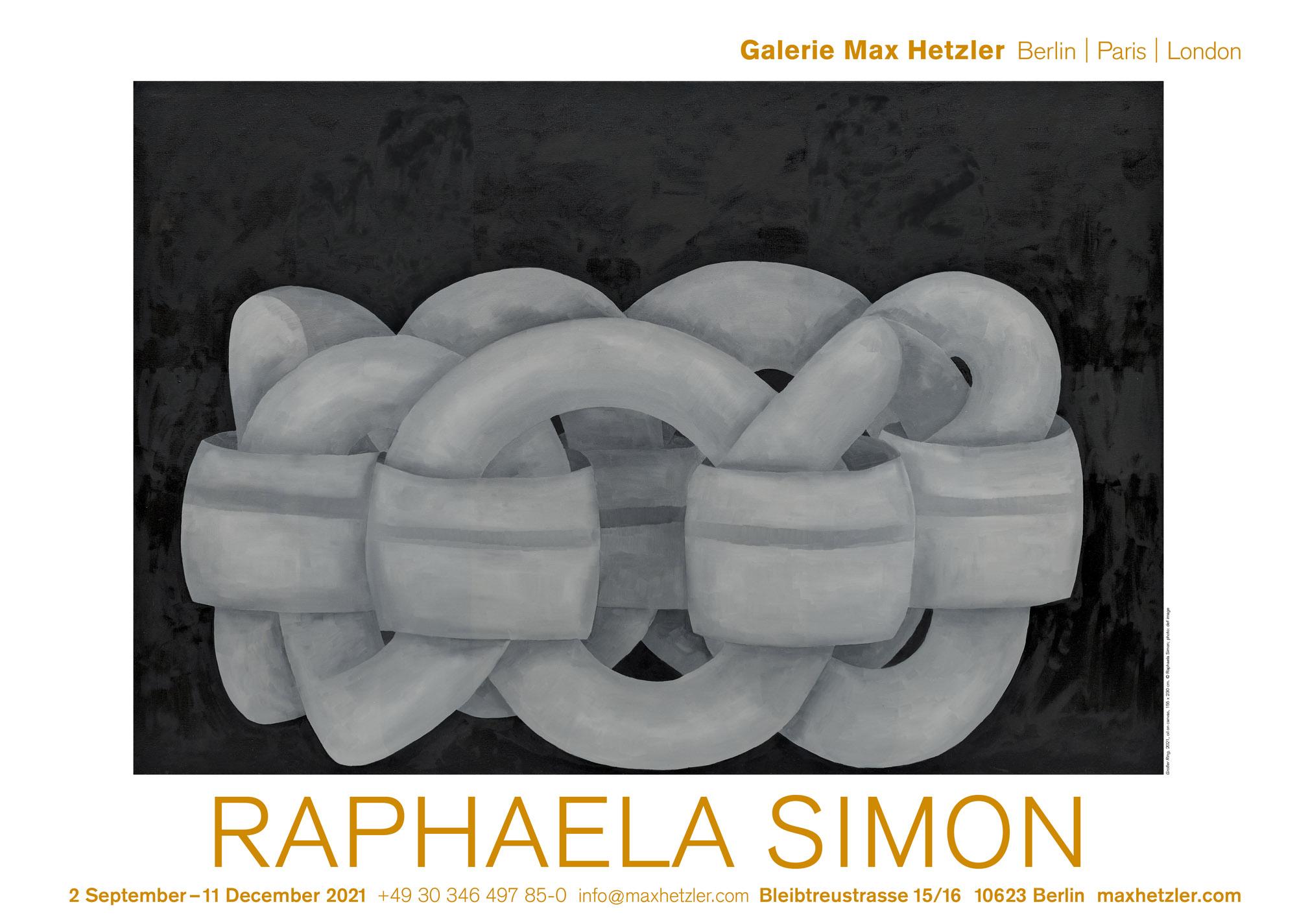 Raphaela Simon - Galerie Max Hetzler