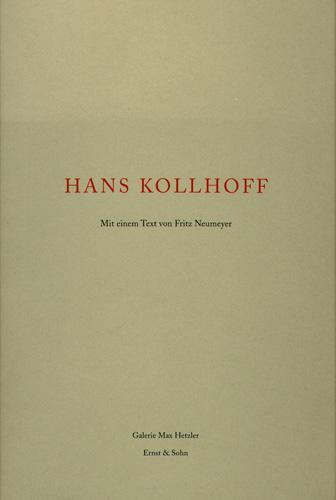 Hans Kollhoff - Galerie Max Hetzler