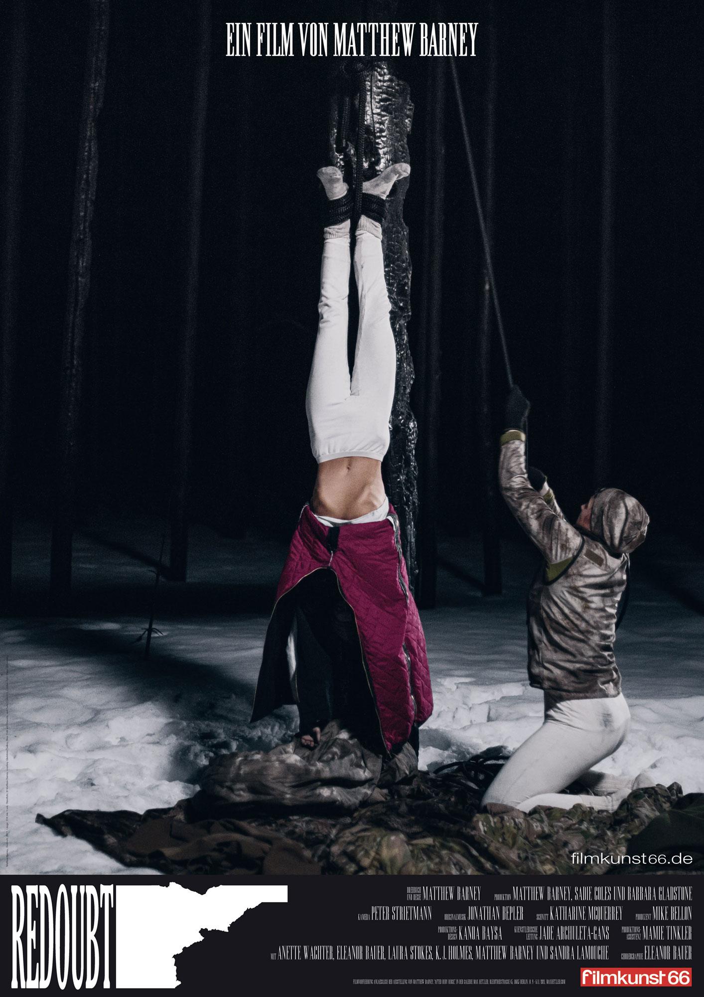 Matthew Barney, Redoubt - Galerie Max Hetzler