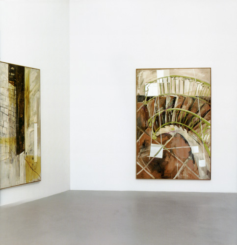 Spiegelbilder / Mirror Paintings - Galerie Max Hetzler
